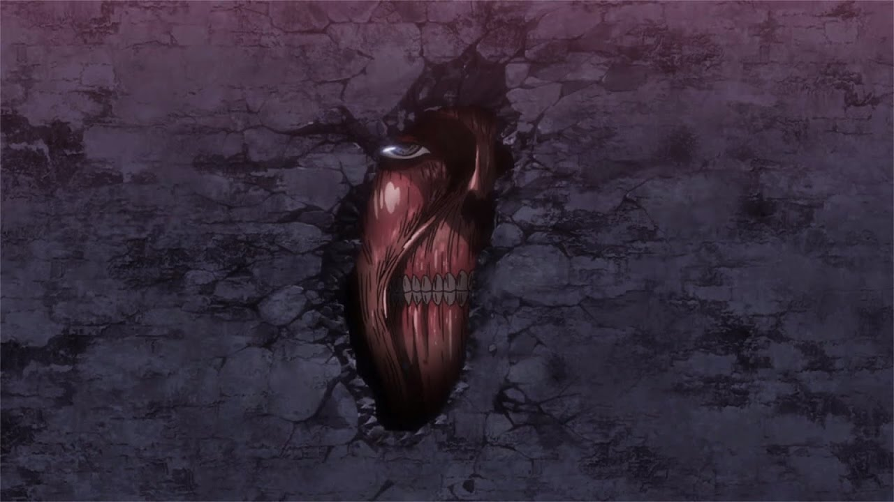 Attack on Titan S2 Dub - Titans in the wall - YouTube