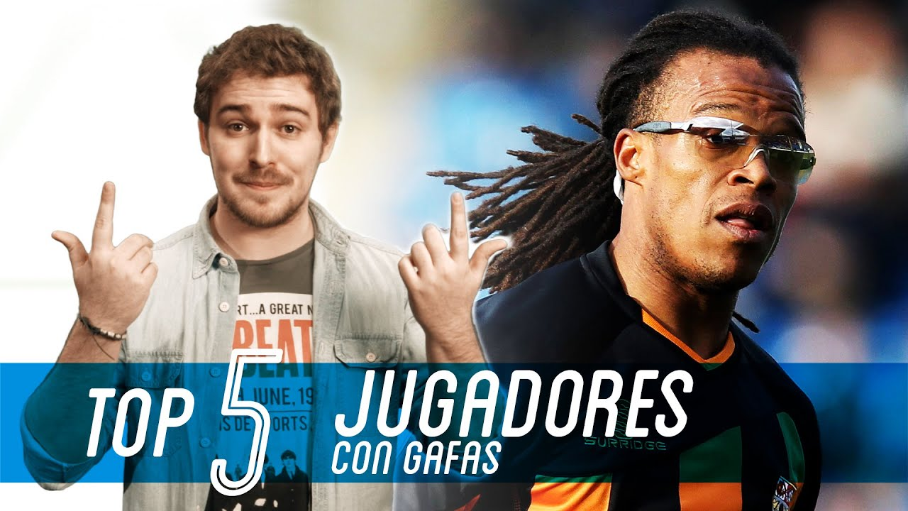 Los 5 Futbolistas CON GAFAS más recordados - YouTube