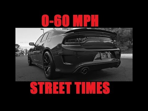 0-60 MPH Street Times with a Dodge Charger Scat Pack