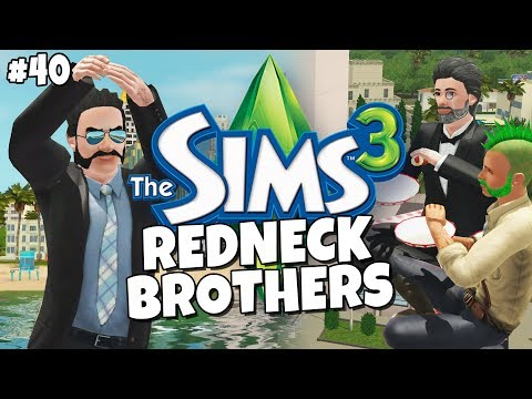 Sims 3 - Redneck Brothers #40 - Museum Squatting