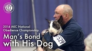 Akc National Obedience Championship: Man's Bond With His Dog