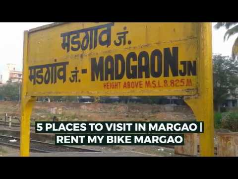 5 PLACES TO VISIT IN MARGAO | RENT MY BIKE MARGAO