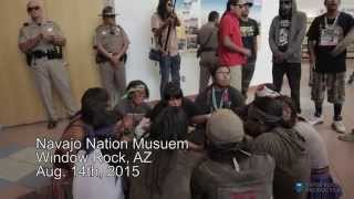 Senator John McCain Chased off the Navajo Nation