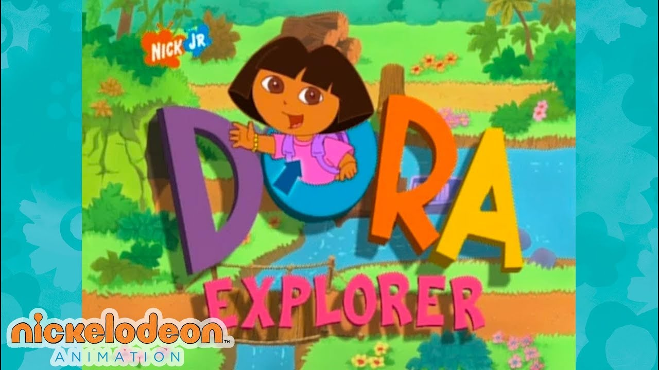 Dora The Explorer Theme Song Nick Animation Youtube