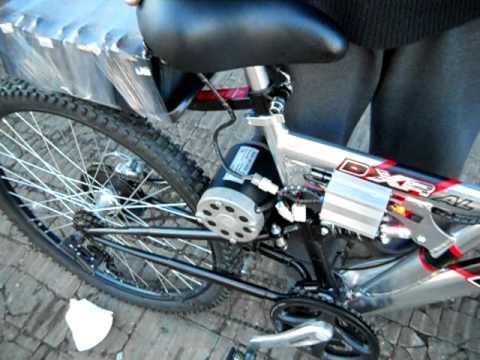 Bicicleta Electrica Youtube Home Made