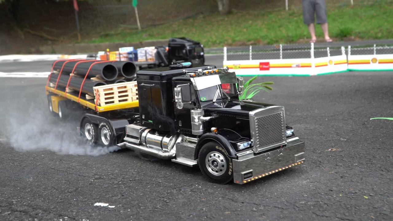 HZM - Encontro Truckmodelismo com caminhões Tamiya no Pq Pelezão Maio 2017