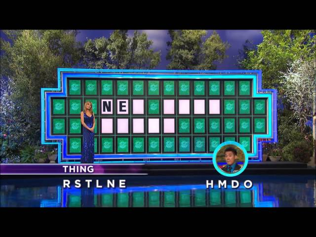 wheel of fortune winner chad mosher on consonants, vowels, and, Powerpoint templates
