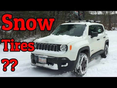 Choosing Snow Tires For The Jeep Renegade