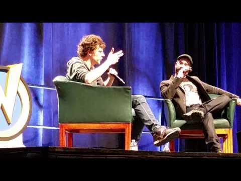 Jesse Eisenberg Panel Wizardworld Philly 2017