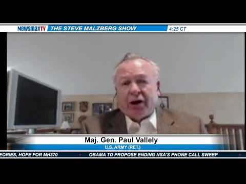 Newsmax: Ret. Maj. Gen. Vallely: Russian Aggression Creates 'Geopolitical War'