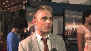 Max Lloyd-Jones Red Carpet Interview - Field of Lost Shoes