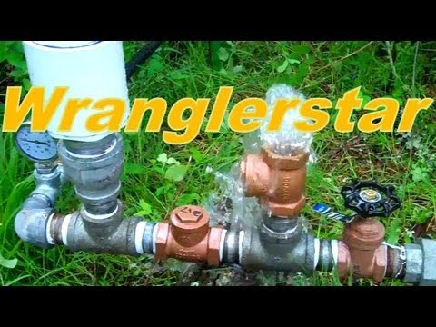 Home Made Hydraulic Ram Pump Youtube