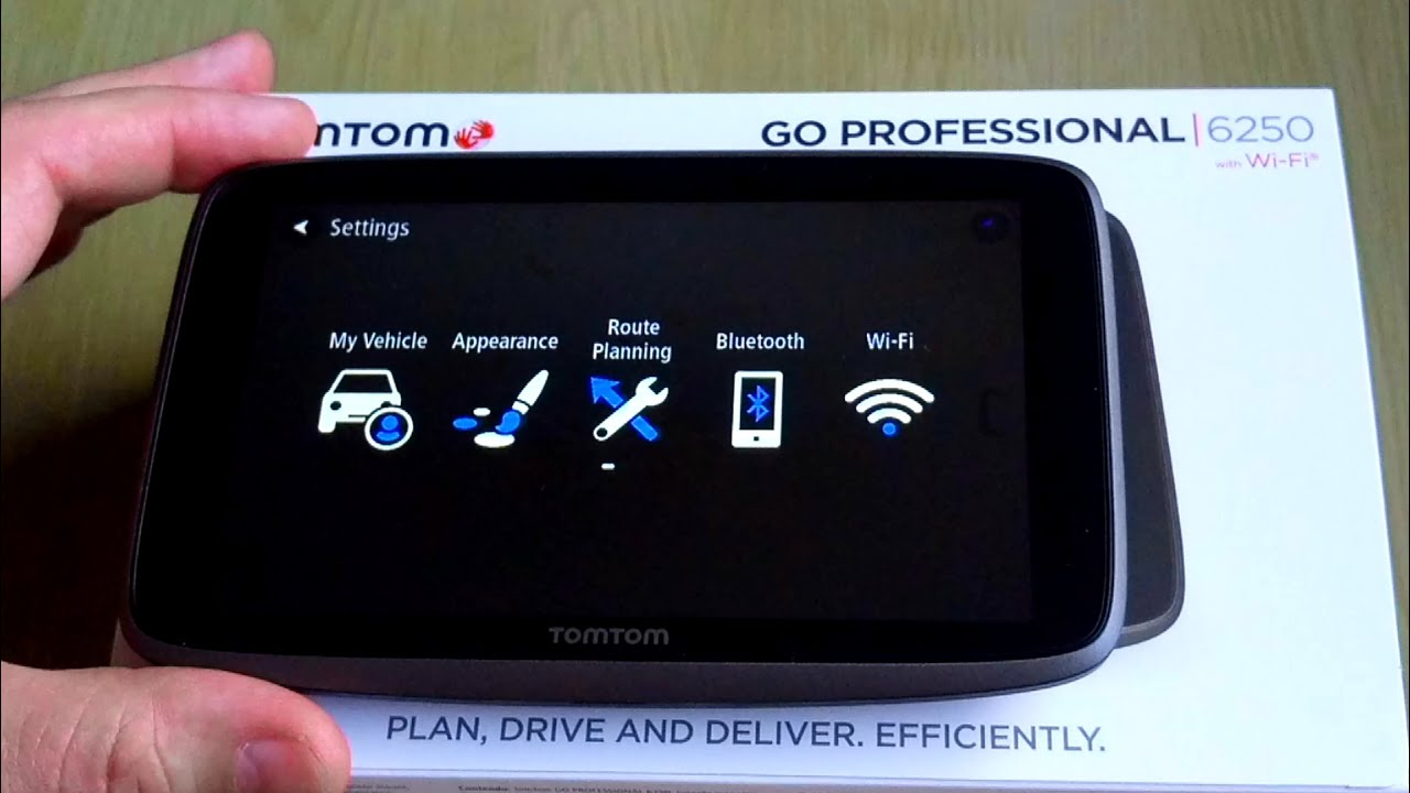 tomtom go professional 6250 update via wi fi step by step guide youtube. Black Bedroom Furniture Sets. Home Design Ideas