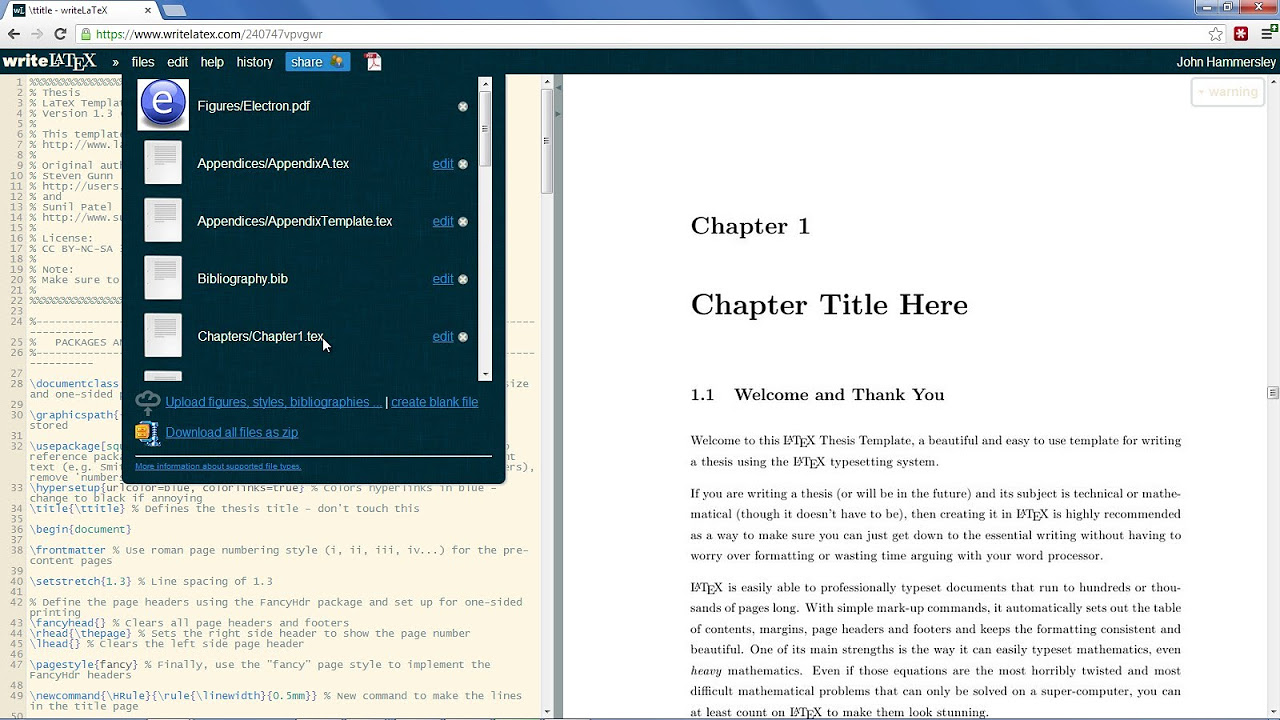 research papers website Latex Phd Thesis Style