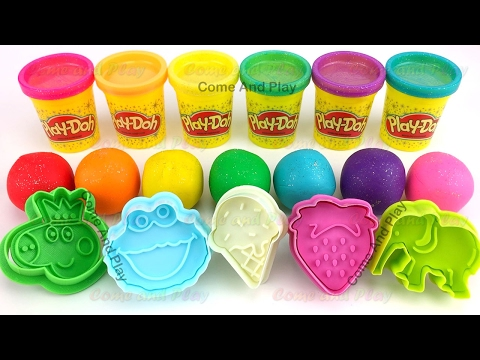 Learn Colors Play Doh Peppa Pig Ice Cream Finger Family Rhym
