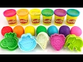 Learn Colors with Play Doh Balls and Finger Family Nursery Rhymes
