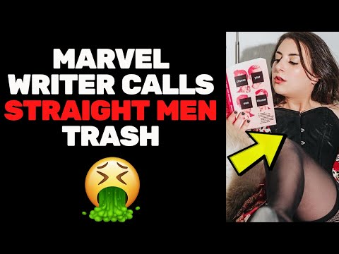 Marvel Writer Call All Straight Men Trash & Bashes Star Wars (Quickly Deletes)