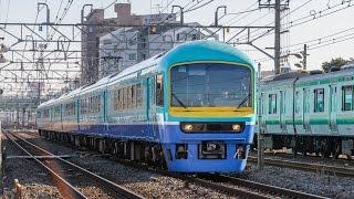 JR東日本 485系多目的電車 幕張車 ニューなのはな 「新春箱根初詣号」 @横浜羽沢~相模貨物
