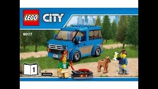LEGO® City Great Vehicles 60117 Фургон і будинок на колесах. Інструкція по збірці