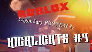 "Roblox Legendary Football Highlights #4 | ""PLUG WALK"""