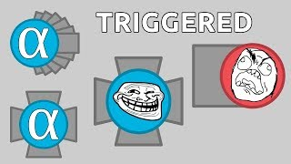 HOW TO GET PEOPLE TRIGGERED IN DIEP.IO - TWO OVERLORDS TURNAROUND - Diep.io Turnaround Series #8