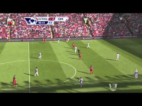 LFC vs QPR 19/05/2013 YNWA CARRAGHER!