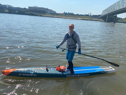 West Chester Man Paddles 50 Miles Along Ohio River To Raise Money For Research