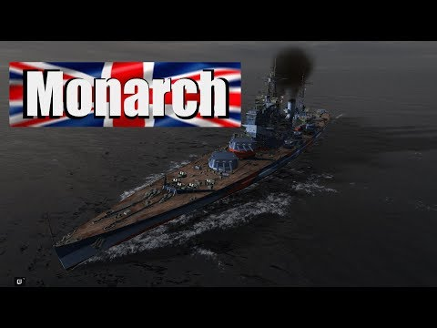 Best of British, The Monarch! - World of Warships!