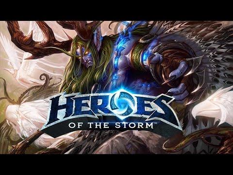 видео: Я мужик из леса! heroes of the storm.