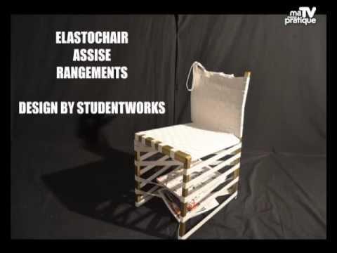 D co r cup 39 fabriquer un chaise moderne et design youtube - Chaise longue en palette bois ...