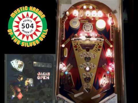 Jacks Open - 1977 - pinball showcase - www.PinballHelp.com
