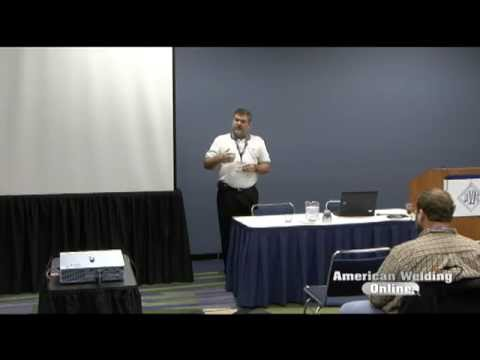 Fabtech 2011 - Structuring The Welding Shop Experience - Ed Norman