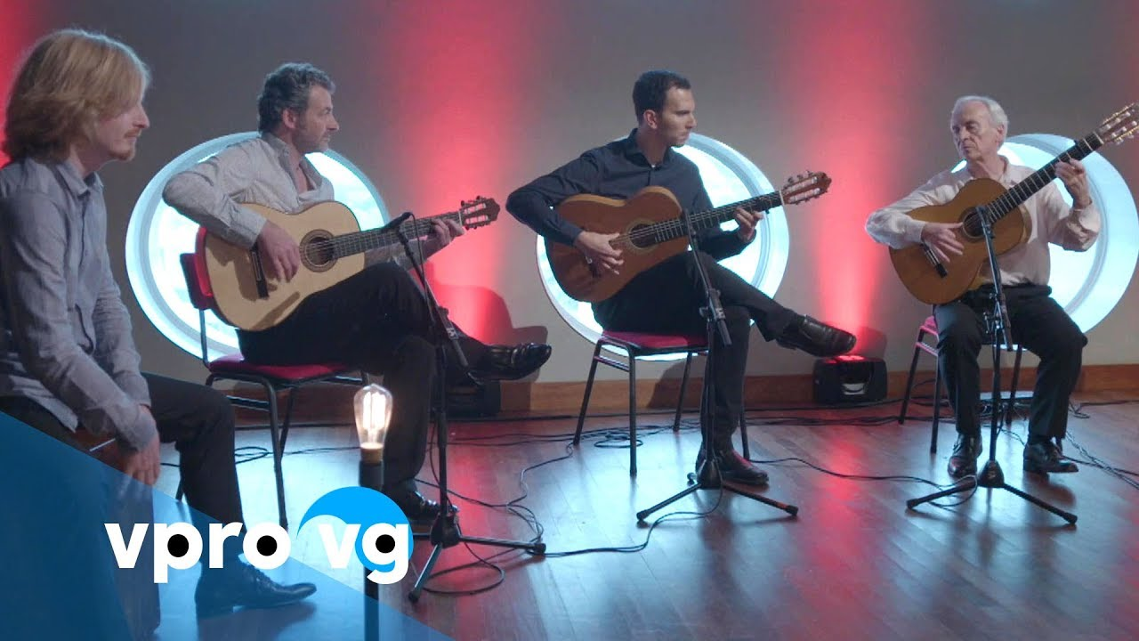 Paco Peña - Bulerias for 3 guitars and cajon (live @TivoliVredenburg Utrecht)
