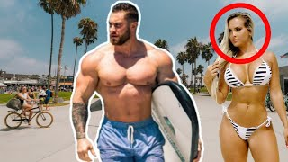 When Chris Bumstead Walks in Public (STARES!!)