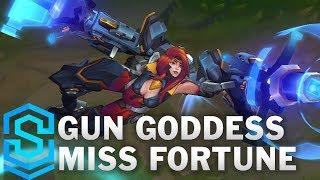 Gun Goddess Miss Fortune Skin Spotlight - League of Legends