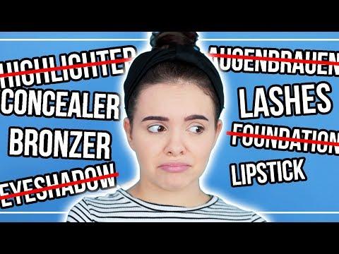 OMG... Makeup TABU!! 😂- Full Face Makeup OHNE...? 😳