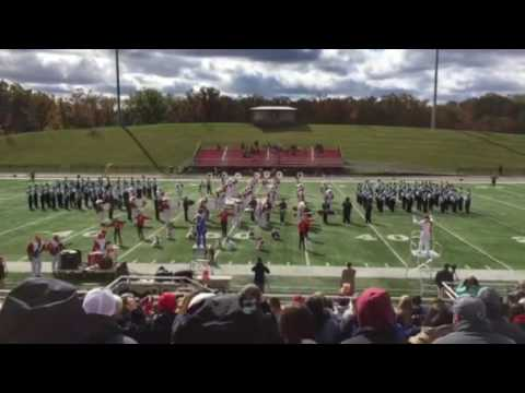Gate City High School Marching Band & UVA Wise Marching Band 2016