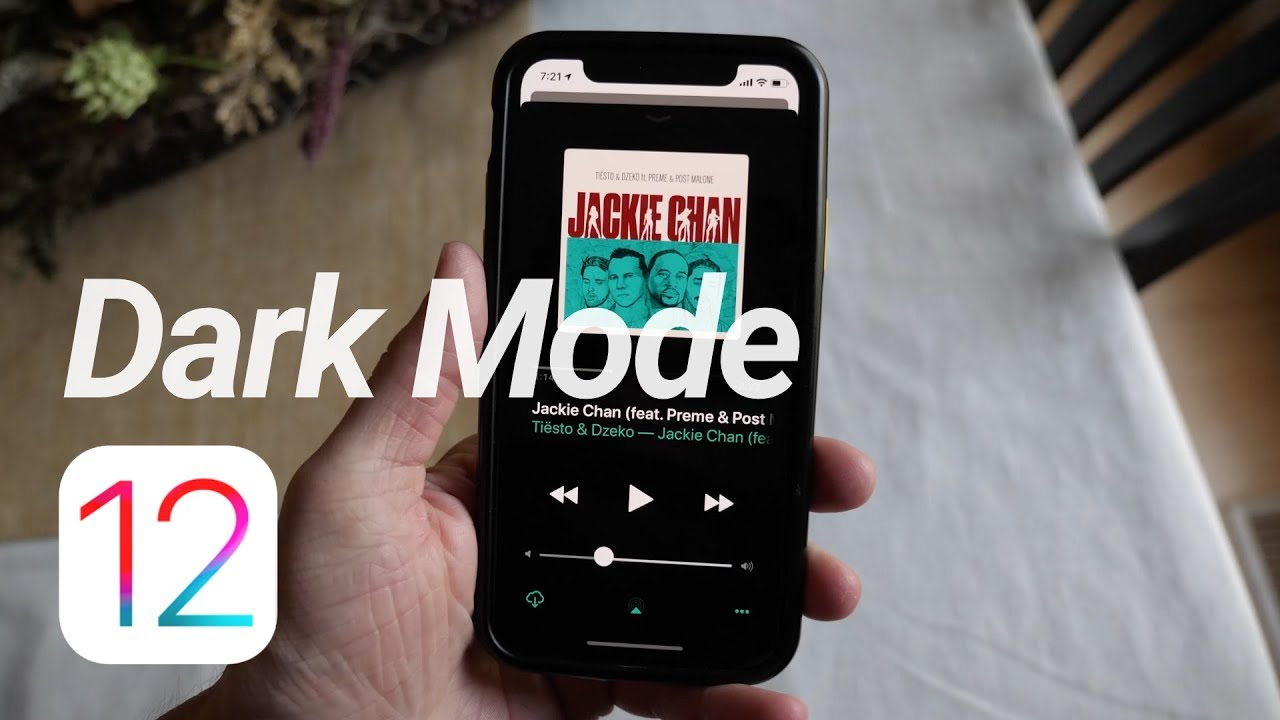 IOS 12: Dark Mode Elements! image