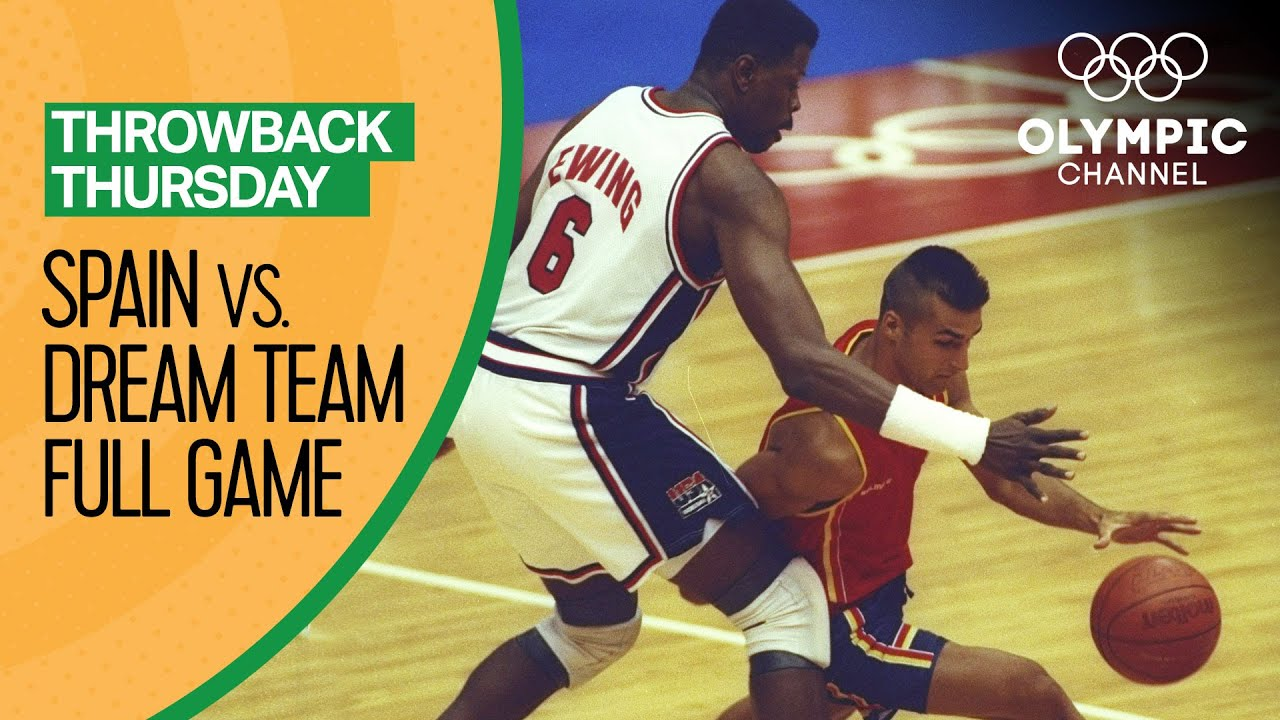 The USA's Dream Team vs. Spain - Basketball Replays | Throwback Thursday