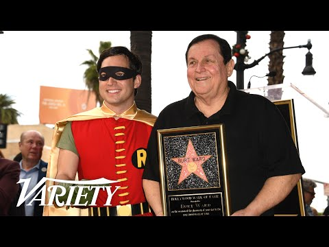 Burt Ward - Hollywood Walk of Fame Ceremony