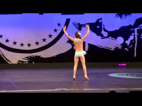 Addison Leitch 9-year old lyrical routine