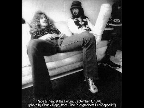 Led Zeppelin LA Forum 9-4-1970 | Live On Blueberry Hill | Pt.1