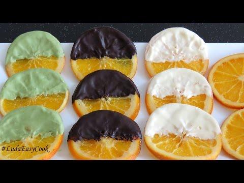 [SUB] АПЕЛЬСИНОВЫЕ  ДОЛЬКИ в шоколаде Карамелизированные #апельсины Làm Caramel trang trí bánh gato
