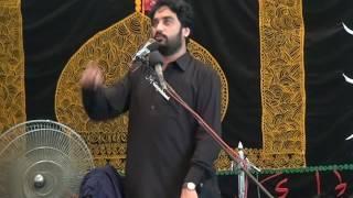 7 Muharram 2016 (1438) Zakir Waseem Abbas Baloch Rasul Nagar