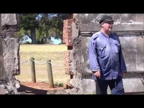 ISLAND PRISON TOUR part 1 Australian Alactraz MORETON BAY