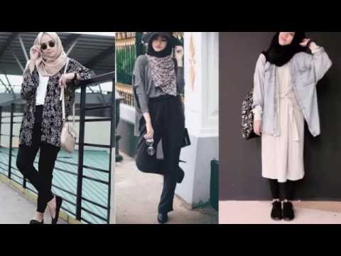 Casual Hijab Outfits For Girls Korean Style Youtube