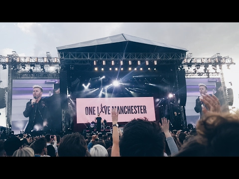 "Take That - Rule The World (HD) Live ""One Love"" Manchester 4.6.17 