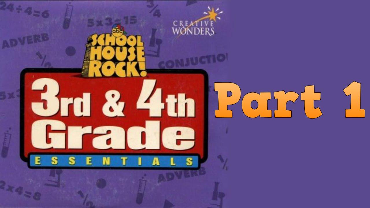 Uncategorized Schoolhouse Rock Adverb whoa i remember schoolhouse rock 3rd 4th grade essentials disc 2 part 1 youtube