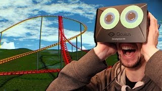 Oculus Rift Rollercoaster | MAYBE I'M OVER MY FEAR OF HEIGHTS.....NOPE!