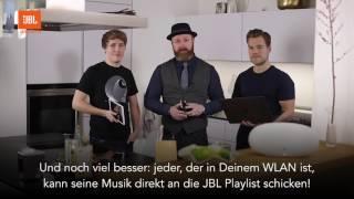 JBL Playlist, der WLAN-Lautsprecher im Test